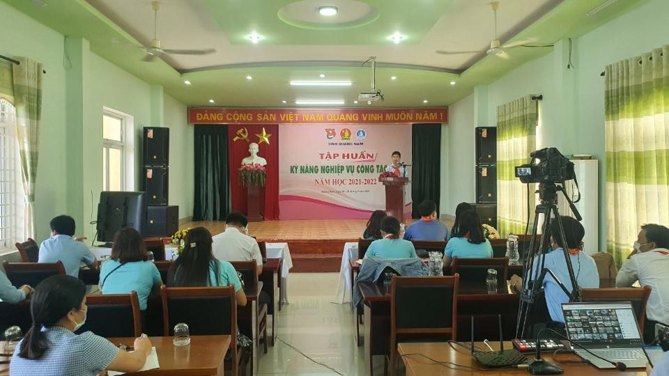 Khai mạc tập huấn công tác Đội và phong trào thiếu nhi năm học 2021-2022